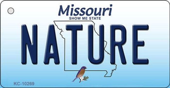 Nature Missouri State License Plate Key Chain KC-10269