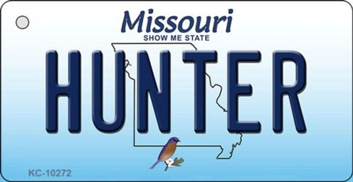 Hunter Missouri State License Plate Key Chain KC-10272