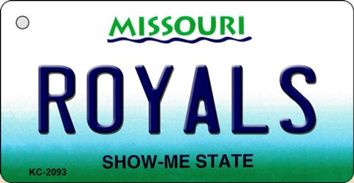 Royals Missouri State License Plate Key Chain KC-2093