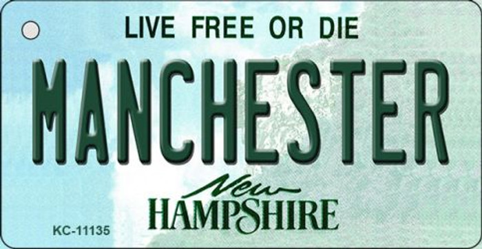 Manchester New Hampshire State License Plate Key Chain KC-11135