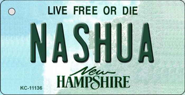 Nashua New Hampshire State License Plate Key Chain KC-11136