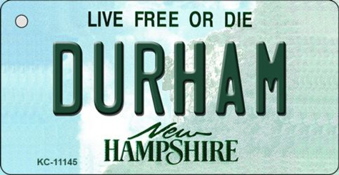 Durham New Hampshire State License Plate Key Chain KC-11145