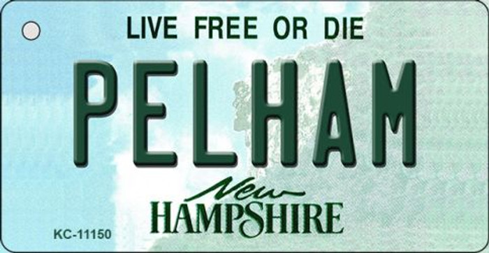 Pelham New Hampshire State License Plate Key Chain KC-11150