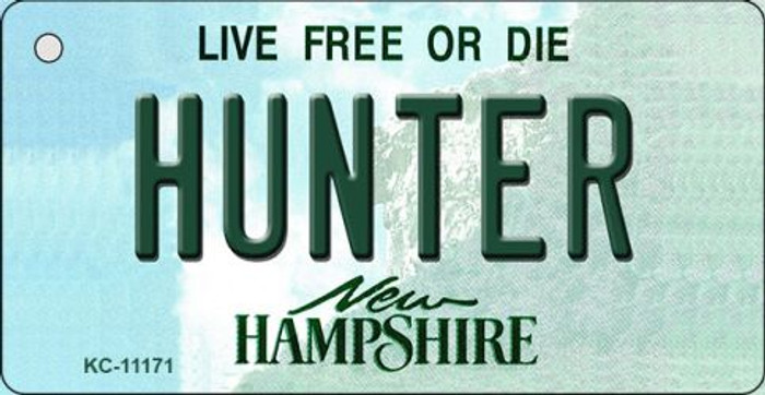 Hunter New Hampshire State License Plate Key Chain KC-11171
