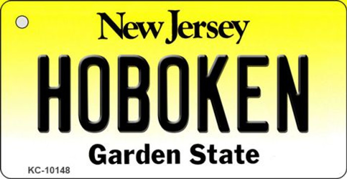 Hoboken New Jersey State License Plate Key Chain KC-10148