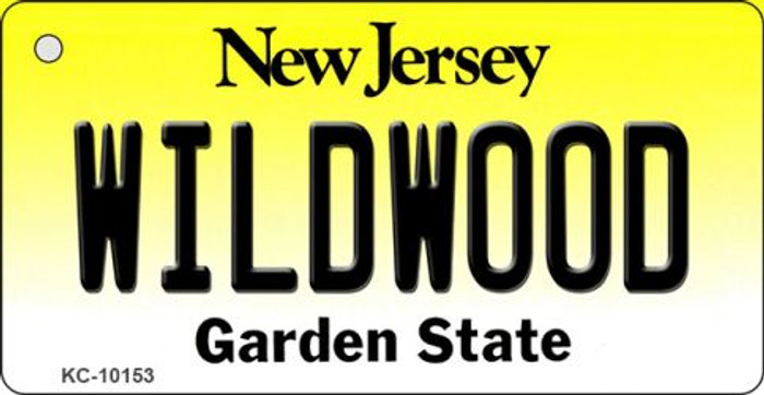 Wildwood New Jersey State License Plate Key Chain KC-10153