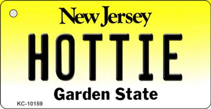 Hottie New Jersey State License Plate Key Chain KC-10159