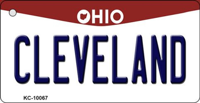 Cleveland Ohio State License Plate Key Chain KC-10067