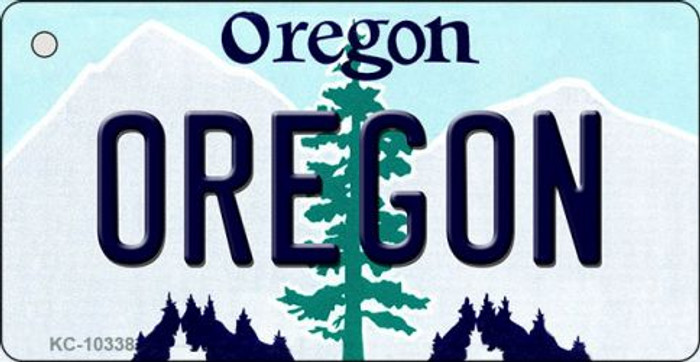 Oregon State License Plate Key Chain KC-10338