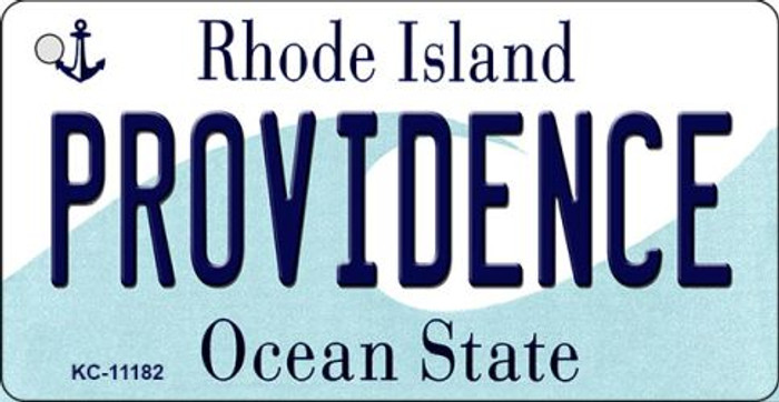 Providence Rhode Island License Plate Novelty Key Chain KC-11182