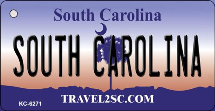 South Carolina License Plate Key Chain KC-6271