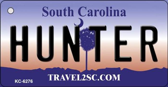 Hunter South Carolina License Plate Key Chain KC-6276