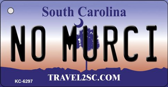 No Murci South Carolina License Plate Key Chain KC-6297