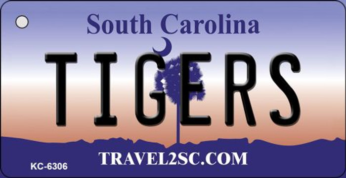 Tigers South Carolina License Plate Key Chain KC-6306