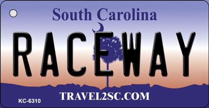Raceway South Carolina License Plate Key Chain KC-6310