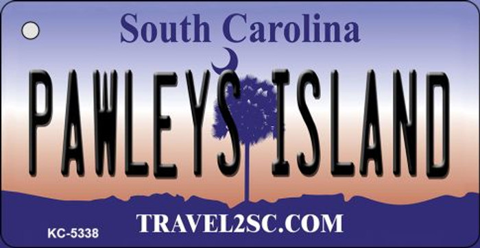 Pawleys Island South Carolina License Plate Key Chain KC-5338