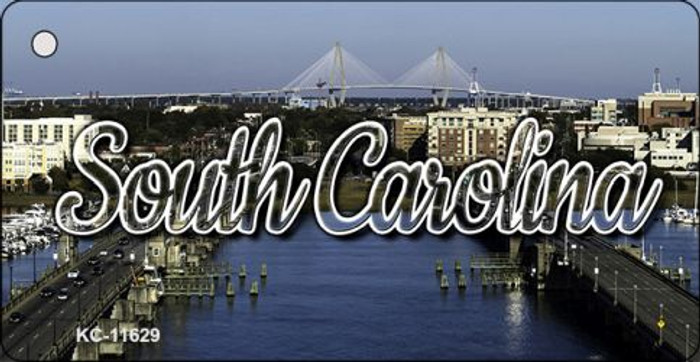 South Carolina City Bridge Key Chain KC-11629