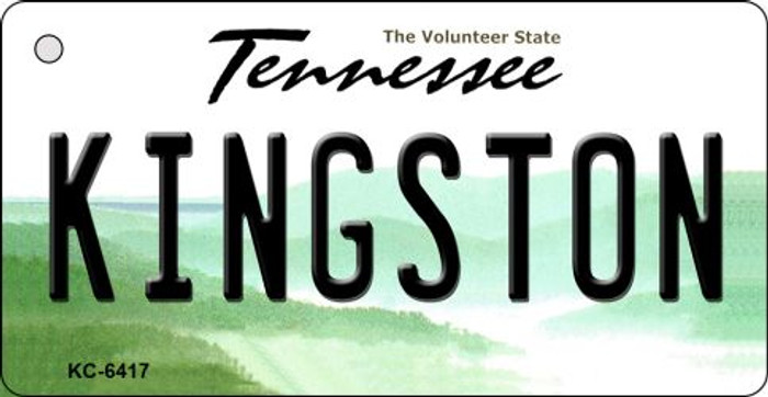 Kingston Tennessee License Plate Key Chain KC-6417