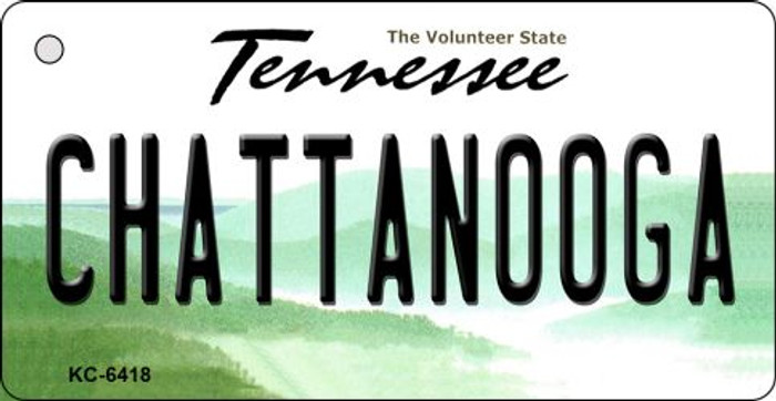Chattanooga Tennessee License Plate Key Chain KC-6418