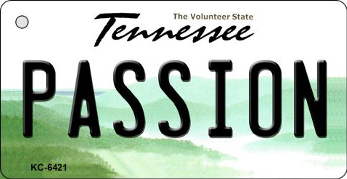 Passion Tennessee License Plate Key Chain KC-6421
