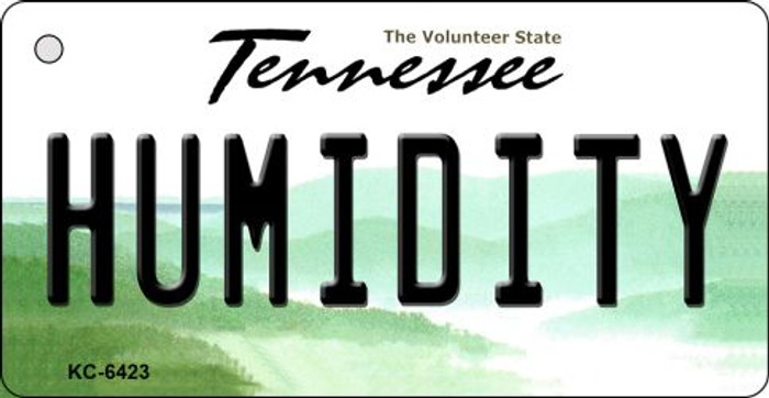 Humidity Tennessee License Plate Key Chain KC-6423