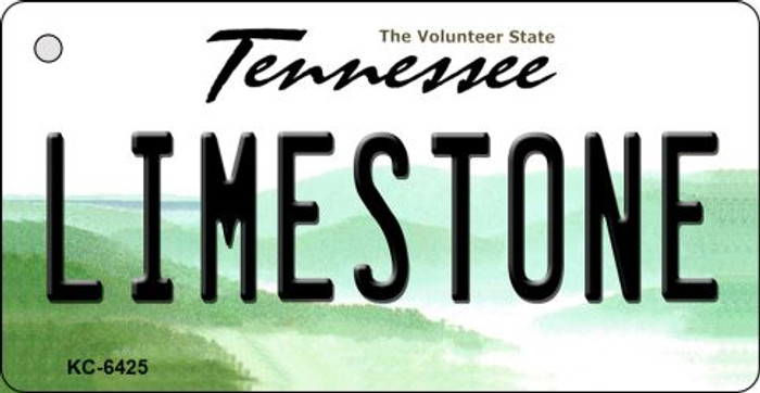 Limestone Tennessee License Plate Key Chain KC-6425
