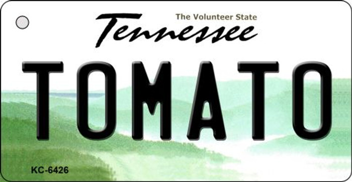 Tomato Tennessee License Plate Key Chain KC-6426