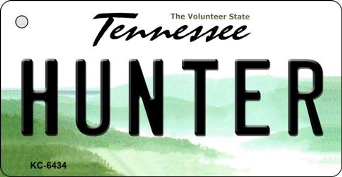Hunter Tennessee License Plate Key Chain KC-6434