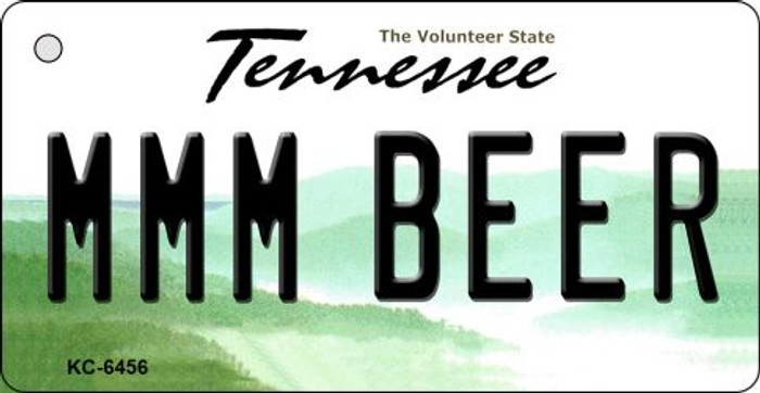 MMM Beer Tennessee License Plate Key Chain KC-6456