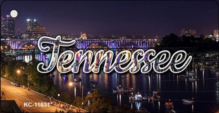 Tennessee Bridge Lights Key Chain KC-11631