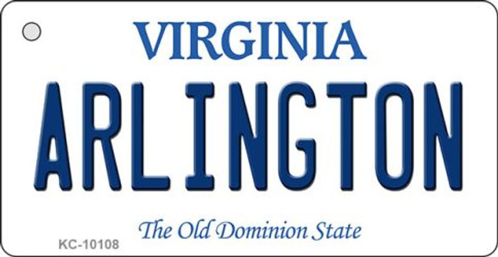 Arlington Virginia State License Plate Key Chain KC-10108