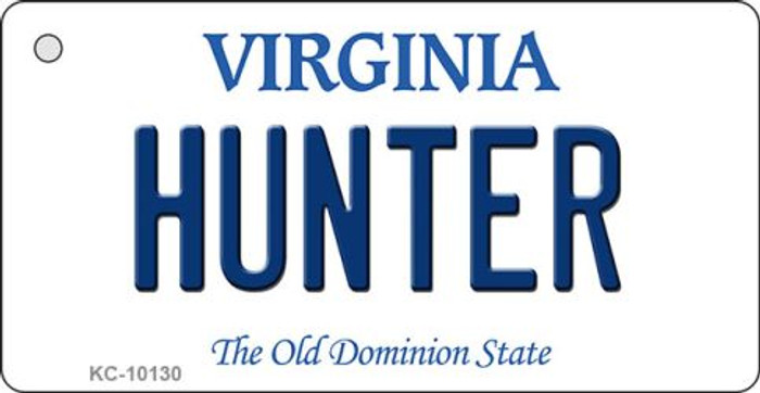 Hunter Virginia State License Plate Key Chain KC-10130