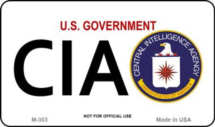 CIA Novelty Magnet M-303