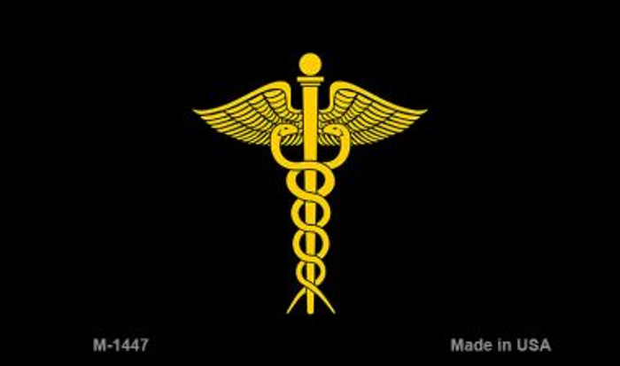 Caduceus Novelty Magnet M-1447