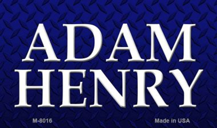 Adam Henry Novelty Magnet M-8016