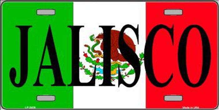 Jalisco Mexico Metal Novelty License Plate LP-3429