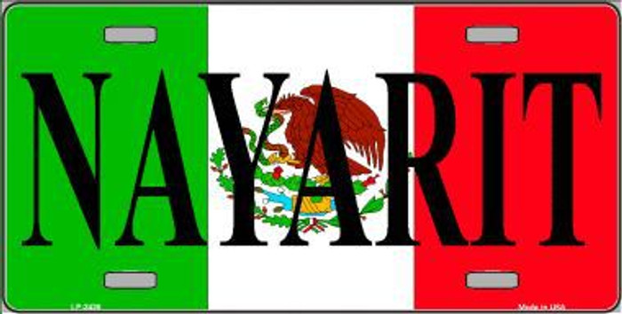 Nayarit Metal Novelty License Plate LP-3438