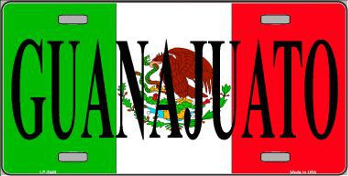 Guanajuato Mexico Metal Novelty License Plate LP-3448