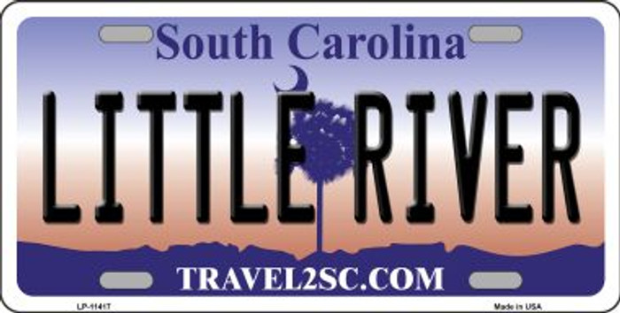 Little River South Carolina Novelty License Plate LP-11417