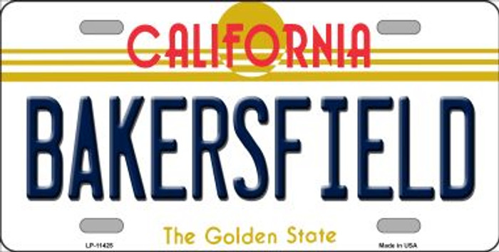 Bakersfield California Novelty License Plate LP-11425