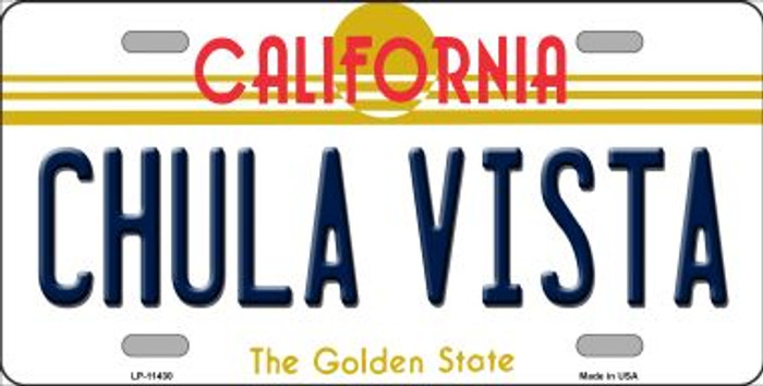 Chula Vista California Novelty License Plate LP-11430