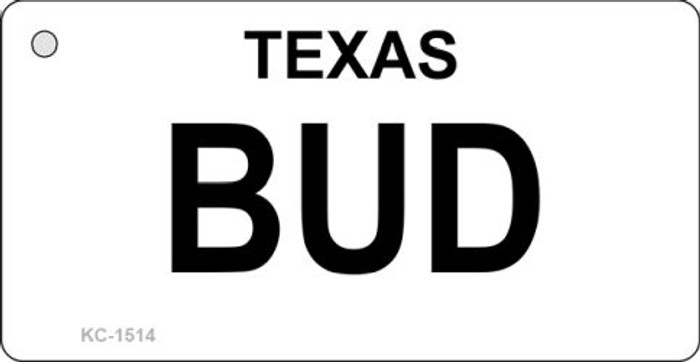 Bud Texas State Novelty Key Chain KC-1514