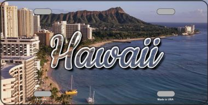 Hawaii Beach State License Plate LP-11594