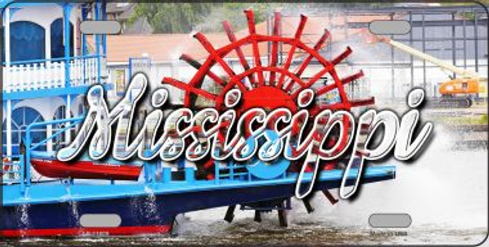 Mississippi Boat State License Plate LP-11609