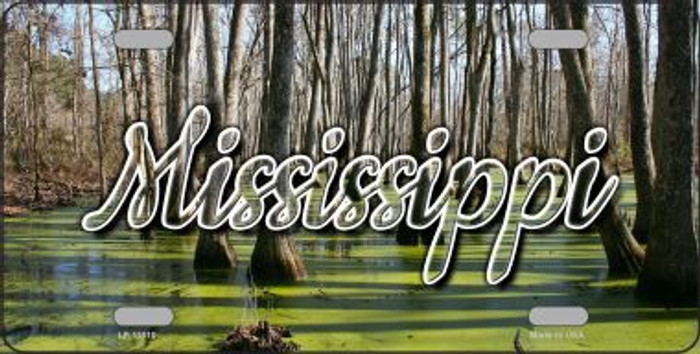 Mississippi Swamp State License Plate LP-11610