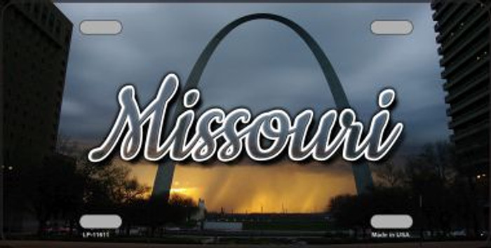 Missouri Gateway Arch State License Plate LP-11611