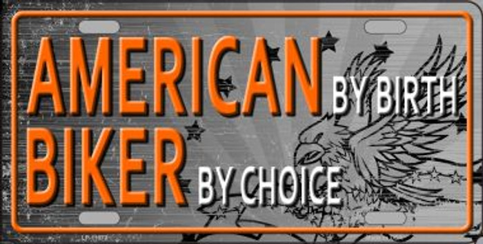 American Biker Novelty License Plate LP-11673