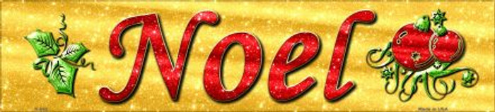 Noel Novelty Mini Street Sign K-653