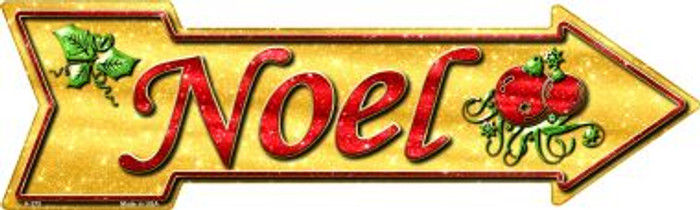 Noel Novelty Metal Arrow Sign A-375