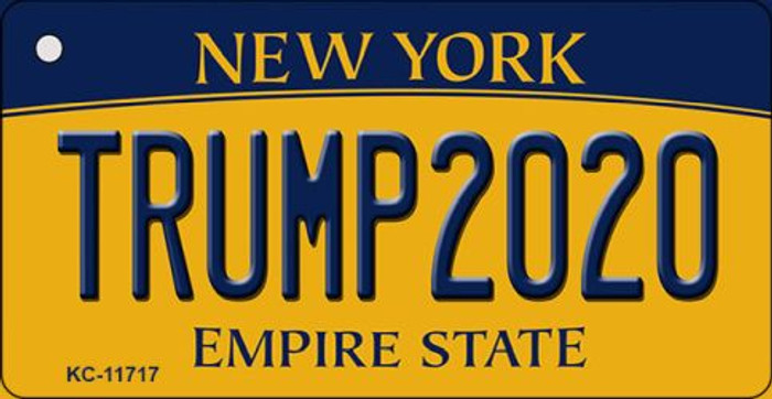Trump 2020 New York Novelty Aluminum Key Chain KC-11717